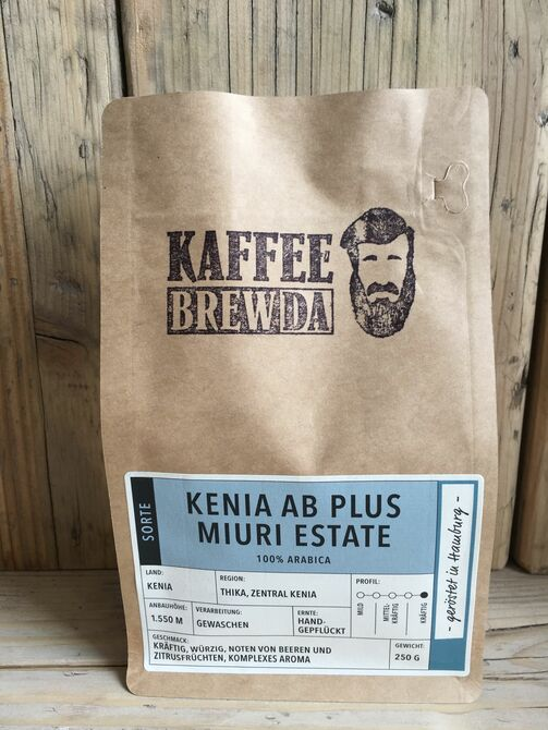 KAFFEE Kenia AB Plus Miuri Estade